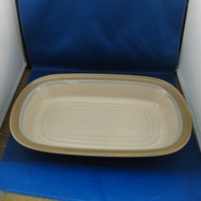 "Noritake Painted Desert 14"" rectangular baker"