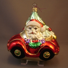 Santa Claus in Car