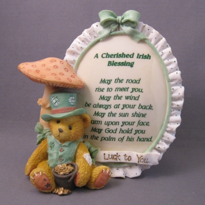 A Cherished Irish Blessing plaque