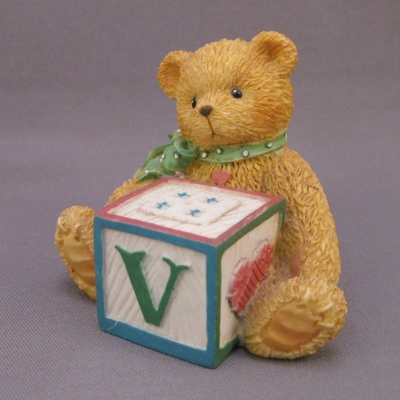 Alphabet Block mini - V