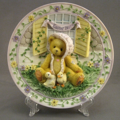 1997 Easter plate