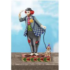 "Clown with Dog, ""Clown's Best Friend"""