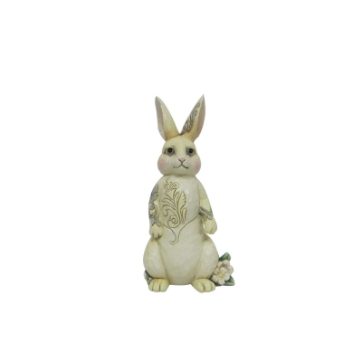 White Woodland Bunny