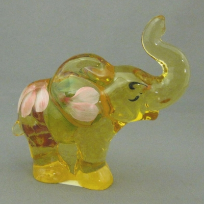 Buttercup elephant, decorated
