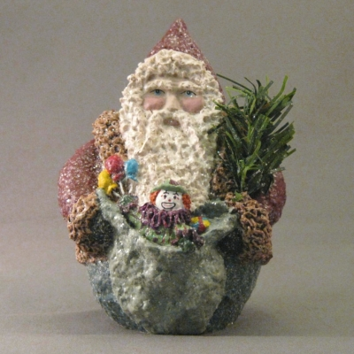 Santa with Sack and Tree (Special Exclusive Figure)