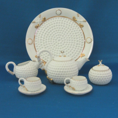 Golf children's tea set (10 pc)