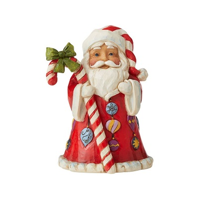 Santa with Candy Cane, Mini