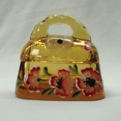 Autumn Gold Designer Purse Box