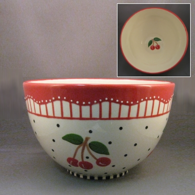 Cherries Mixing Bowl
