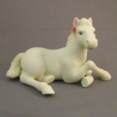 2009 Easter Collectible Pony Sitting