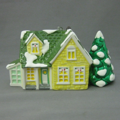 Nantucket ornament (Original Snow Village)