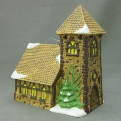 Dickens' Village Church ornament (Dickens)