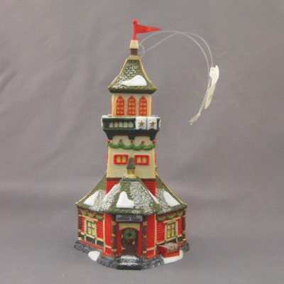 Santa's Lookout Tower ornament