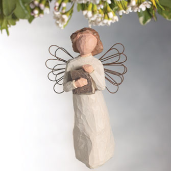 Angel of Learning Ornament