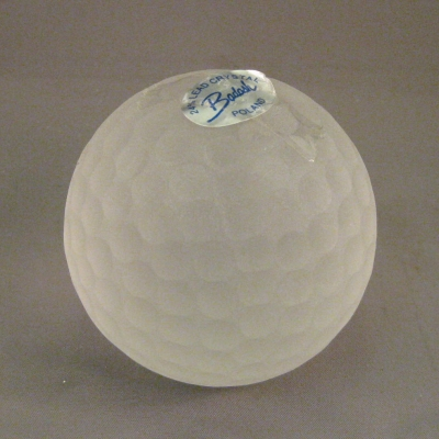Badash Crystal Golf Ball