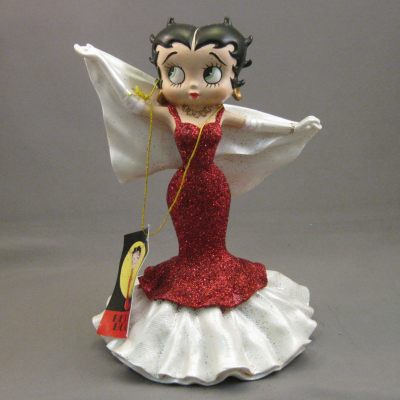 Betty Boop in Red Glitter Dress figure