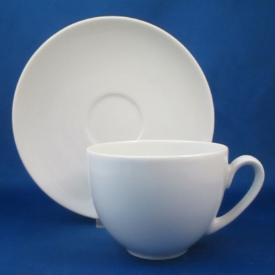 Block Athens White cup & saucer