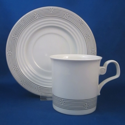Block Ulysses cup & saucer