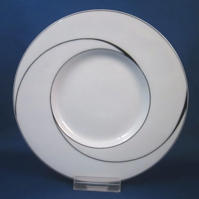 Block White Pearl saucer