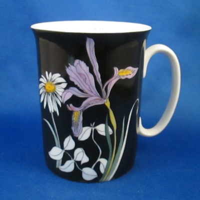 Block Wildflowers (Iris) mug