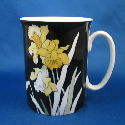 Block Wildflowers (Narcissus) mug