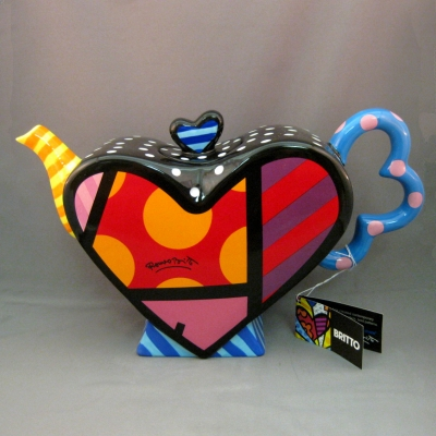 Heart teapot - Britto
