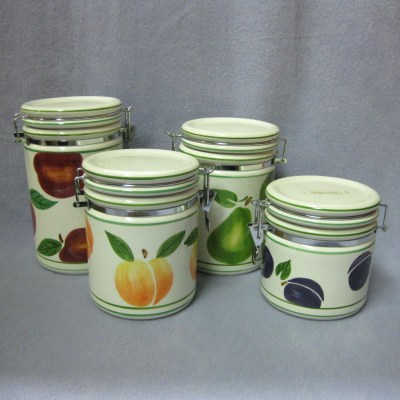 CIC Fruit canisters (set of 4)