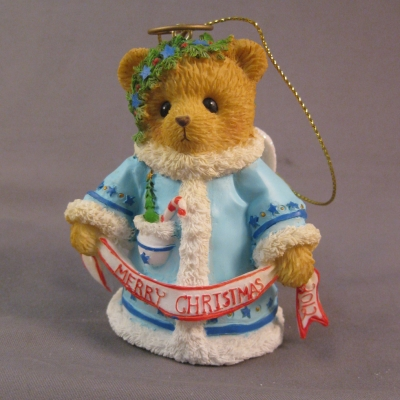 "2012 Bell Ornament - Angel: ""Wishing You a Heavenly Holiday"""