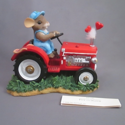 You Make My Heart Putter (red tractor)