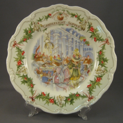 Candlelight Supper Luncheon Plate