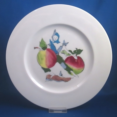 Castleton Harvest luncheon plate, Apples