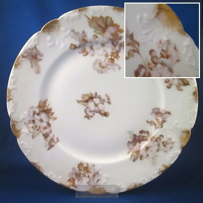 Charles Field Haviland Unknown BB dinner plate