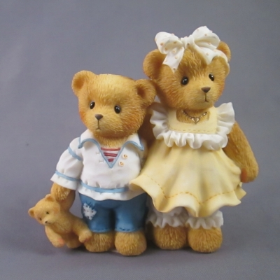 1997 Cherished Teddies Club Members Piece - Bernard & Bernice