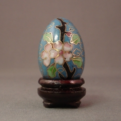 Cloisonne Egg - Click Image to Close