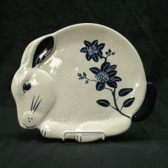 """Masie"" the Bunny Plate"