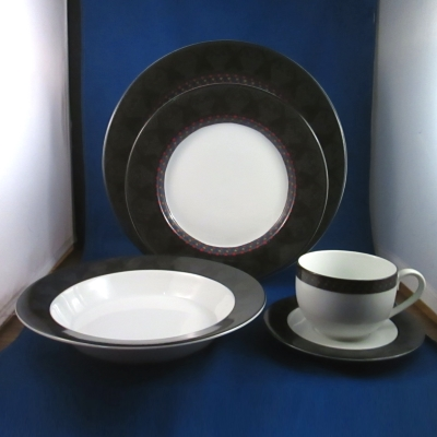 Dansk Amish Shadow 5 piece place setting