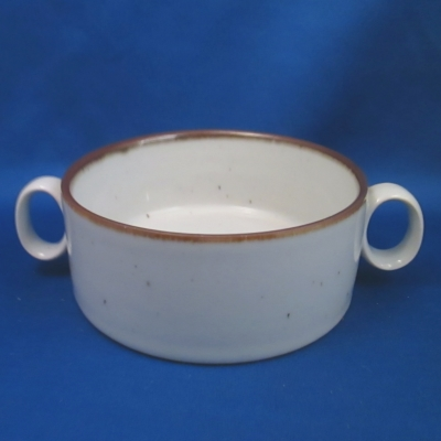 Dansk Brown Mist sugar bowl NO LID