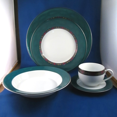 Dansk Emerald Braid 5-piece place setting