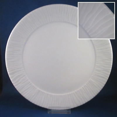 Dansk Glace White dinner and salad plates