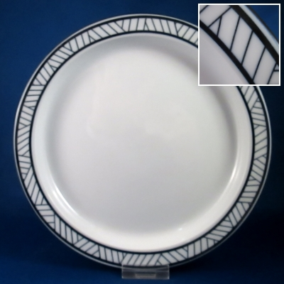 Dansk Lyngby dinner and salad plates