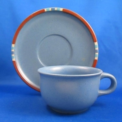 Dansk Mesa Blue Sky cup & saucer - $0.00 : Hoffman\'s Patterns of the ...