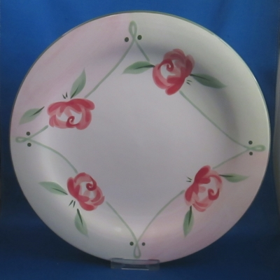 Dansk Rumba Rose dinner plate