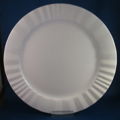 Dansk Vesi-Pearl White dinner and salad plates