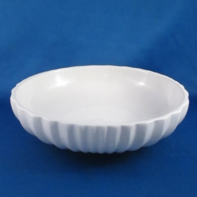 Dansk Vesi-Pearl White coupe soup bowl