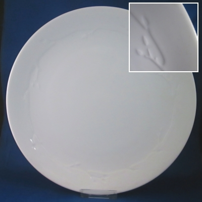 Dansk Wild Willow - White dinner and salad plates
