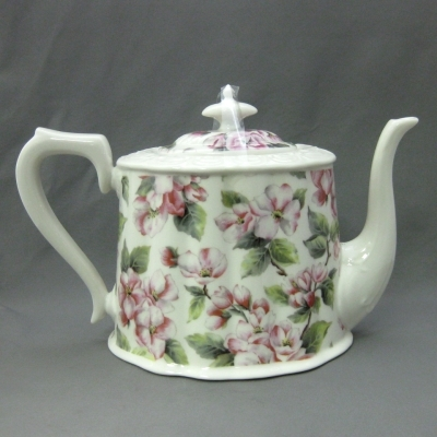 Apple Blossom Teapot - Delton