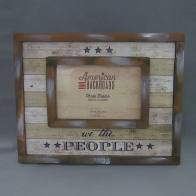 We the People frame (4 x 6 photo)