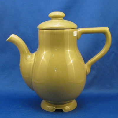 Demdaco Family Settings lichen (olive green) coffee pot