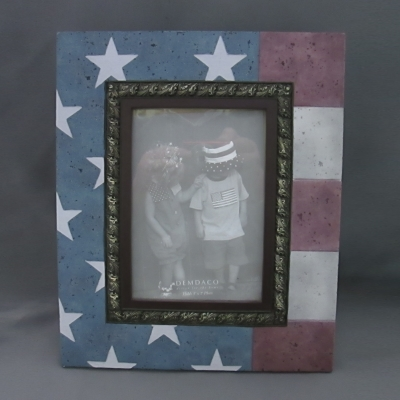 Heartstone Flag frame (5 x 7 photo)
