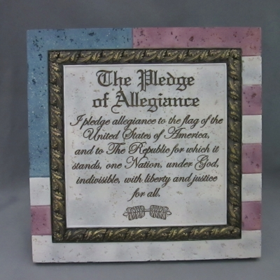 Heartstone Pledge of Allegiance plaque